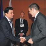 На 6 и 7 мај 2011 год. во Опатија, Хрватска на Генералното Собрание на Советот на геодети на Европа, Комората на Овластени Геодети на Република Македонија беше примена како 34-та полноправна членка во рамките на Советот на геодети на Европа (CLGE).