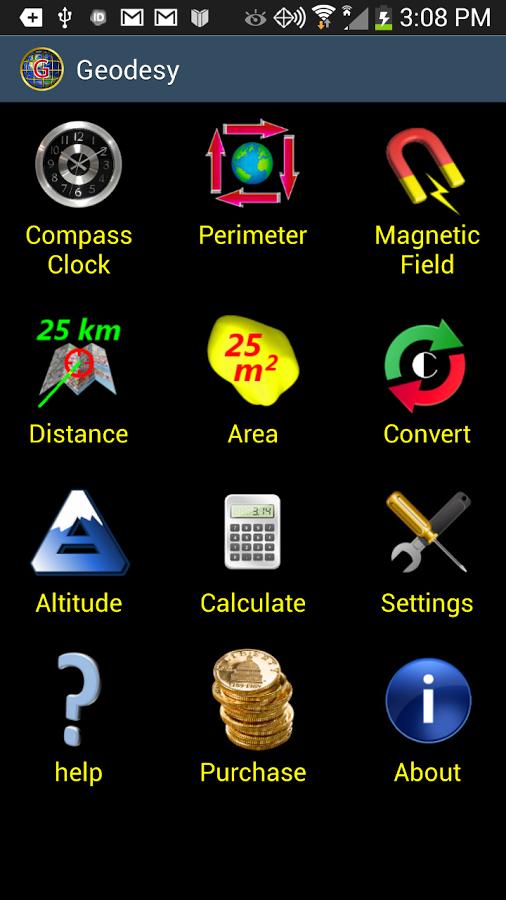 geodesy app