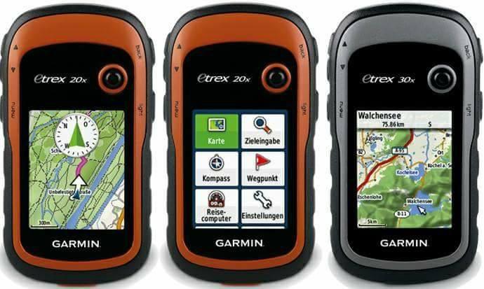 GARMIN eTrex GPS serija